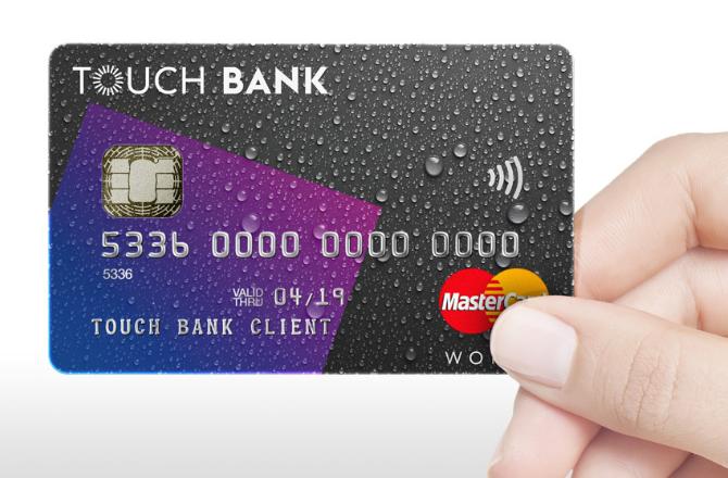 Touch Bank карта оформить
