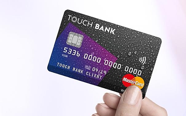 Touch Bank получить карту